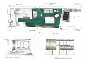 projet-esquisse-main-plan-elevation-perspective-voligne
